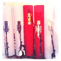 Johnny Hall Productions recording studio