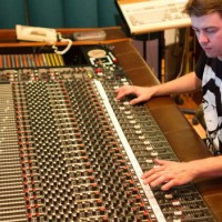Johnny Hall Productions learning on Thriller mixing desk