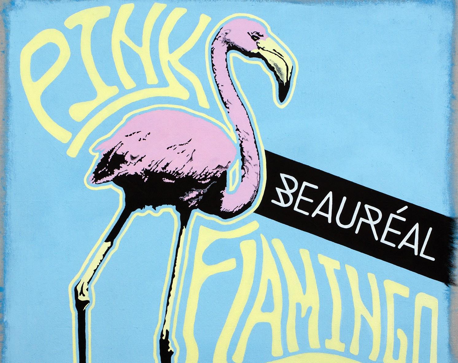 Online Flamingo background