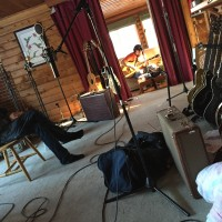 Tracking Beau Réal at the chalet