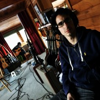 Tracking Beau Réal at the chalet, with my trusty sidekick Juan Gomez