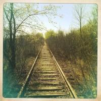 tracks near the studio