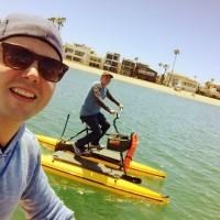 Hydra biking with Seven in Long Beach