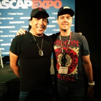 With the great Chris Lord Alge